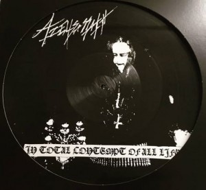 AZELISASSATH - In Total Contempt of all Life (LP) (picture)