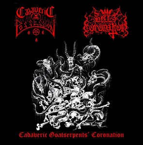 HELL'S CORONATION / CADAVERIC POSSESION -  Cadaveric...(CD)