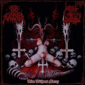 NUN SLAUGHTER / VOMIT OF DOOM - Live Without Mercy (CD)