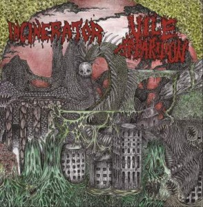 INCINERATOR / VILE APPARITION - Incinerator / Vile Apparition (CD)