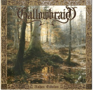 GALLOWBRAID - Ashen Eidolon (LP) white/red splatter