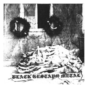 GESTAPO 666 - Black Gestapio Metal (LP)