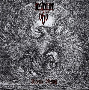 DESTROYER 666 - Phoenix Rising (LP) (clear splatter)