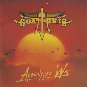 GOATPENIS - Apocalypse  war (CD)
