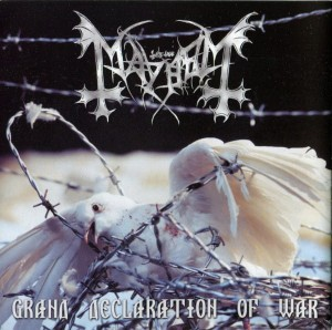 MAYHEM - Grand Declaration of War [2014 reissue] (Digi2CD)