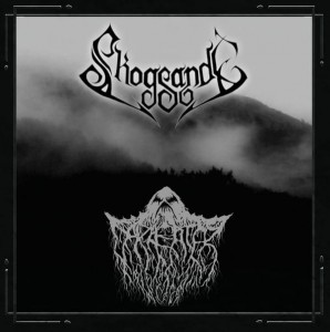 SKOGSANDE/DARKEATER - split (CD)