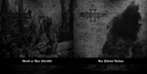 MINENWEFER/STURMTIGER - Split  (LP)