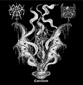 GRAVE OF GOD & GRAVES - Concilium (CD)