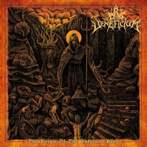 ARS VENEFICIUM - The Reign Of The Infernal King (CD)