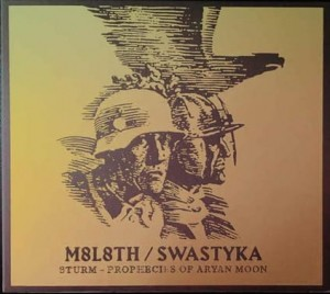 SWASTYKA / MOLOTH - Sturm / Prophecies Of ... (DigiCD)