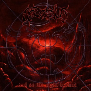 AETERNUS -  ...And So The Night Became (2LP) (red)