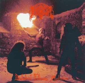 IMMORTAL - Diabolical Fulmoon Mysticism (LP) (red galaxy)
