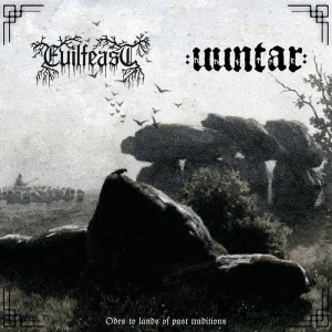EVILFEAST / UUNTAR - Odes to Lands... (CD)