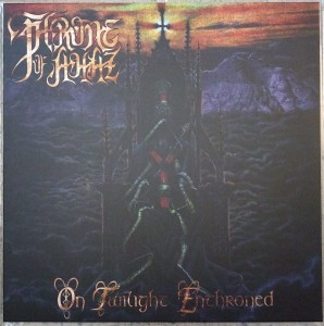 THRONE OF AHAZ - On Twilight Enthroned  (LP)