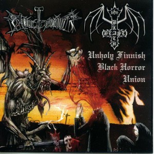 BLACK BEAST / BLOODHAMMER - Unholy Finnish... (LP)