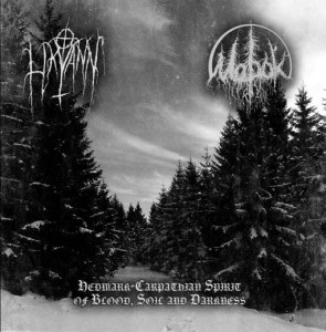 LIKVANN & MOROK Carpathian Spirit of Blood, Soil and Darkness (CD)