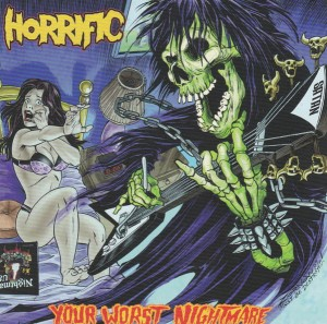 HORRIFIC - Your Worst Nightmare (LP)