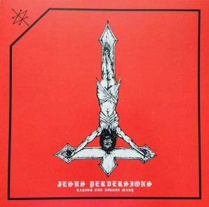 AZAZEL - Jesus Perversions: Raping... (LP) (red)