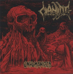 CIANIDE - Unhumanized (LP) (red/gold)