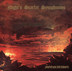 MOONCITADEL - Night's Scarlet Symphonies (LP)