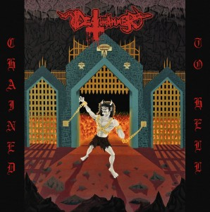 DEATHAMMER - Chained To Hell (LP) (color)