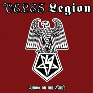VELES / LEGION - Blood on my Knife (LP)