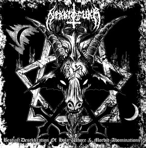 NEKKROFUKK -Bestial Desekkration of Holy Whore...  (CD)